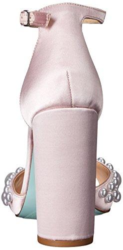 Blue by Betsey Johnson Women's Sb-Cara Dress Sandal Blush Satin rMAMN9csQ