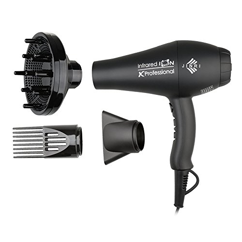 Jinri-Pro-1875w-Fast-Dry-Infraed-Ionic-Hair-Dryer2-Speeds-3-Heat-Black-Color