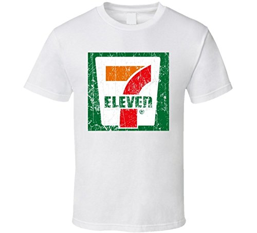 Ht 7 Eleven Cool Convenience Store Pop Culture Worn Look T Shirt L