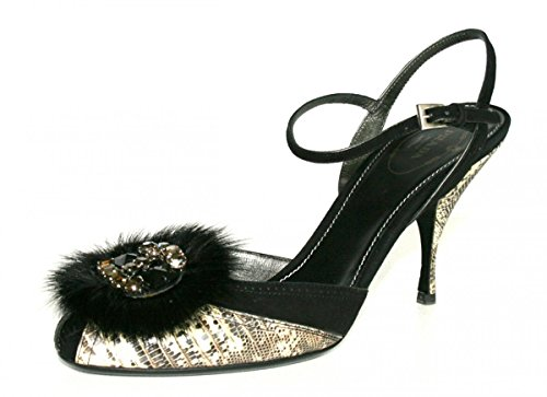 Prada Femmes 1k8082 Chaussures En Cuir