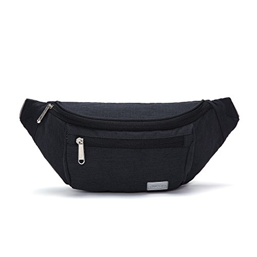 TINYAT Travel Fanny Bag Waist Pack Sling Pocket Super Lightw