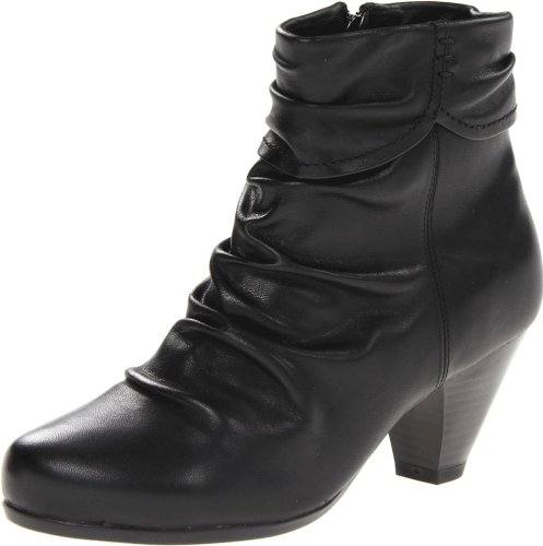 Blondo Dames Diva Bootie Zwart Nativo Soft