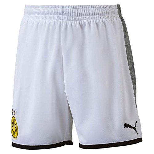 Borussia Dortmund Away KIDS Shorts 2017 / 2018 - 140 cm