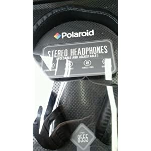 Polaroid Stereo Headphones (Foldable and Adjustable) PHP8555