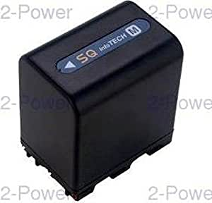 2-Power VBI9600A Ión de litio 4500mAh 7.4V batería recargable - Batería/Pila recargable (4500 mAh, Ión de litio, 7,4 V, Negro)