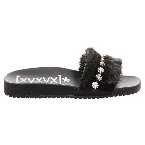 Xyxyx Xyxyx Pour Noir Mules Mules Femme rq5r4
