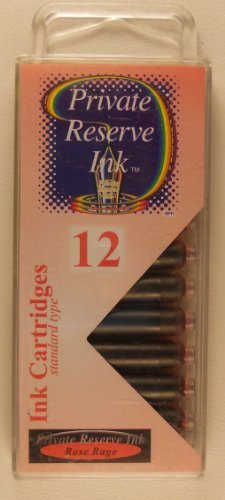 Private Reserve International Ink Cartridges Rose Rage