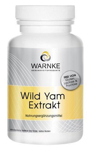 Extracto de Yam salvaje – 20% de diosgenina + Vitamina C y E, betacaroteno