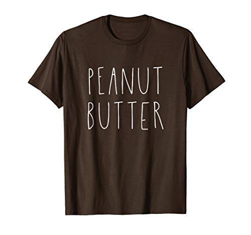 Peanut Butter and Jelly Best Friend Matching Couples Shirt -