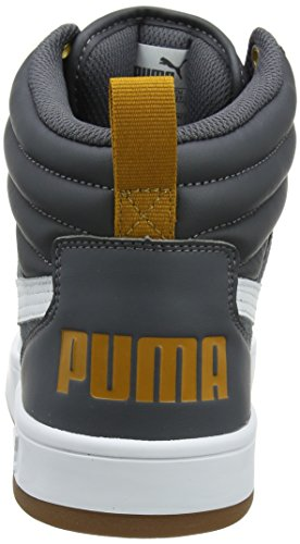 Adulte White puma Brown Puma Mixte Baskets Gate Noir Hautes 08 Street V2 Rebound Iron buckthorn xYqCYwaR