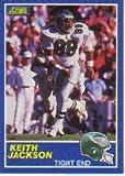 1989 Score #101B Keith Jackson RC