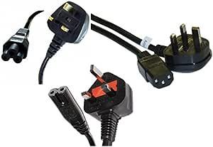 Clob Cable de alimentación cable para Epson proyector eb-995 W ...