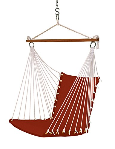 Hangit Polyester Swing Chair (Brick Red, 60 Centimeters)