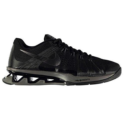 Nike Reax Lightspeed Zapatillas de entrenamiento para hombre negro/gris Fitness zapatillas zapatillas