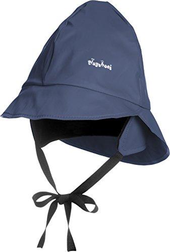Playshoes Kids Waterproof Rain Hat with Fleece Lining (Medium 51cm, (Fleece Waterproof Hat)