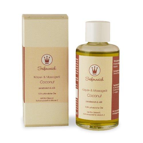 Seifenreich Körper- und Massageöl Coconut, 1er Pack (1 x 100 ml)