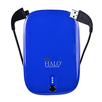 Halo Pocket Power 5500 Universal Power Charger (Blue) by Halo2 Cloud, Llc