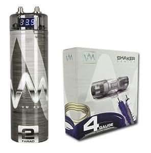 vm audio srsk4b 4 gauge ga car amplifier amp. Black Bedroom Furniture Sets. Home Design Ideas