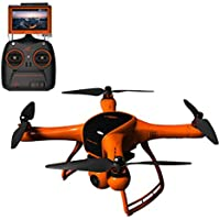 Wingsland Minivet V2 Drone RC Quadcopter FPV Selfie UAV 3-Axis Gimbal 1080P HD Camera with 5 LCD Monitor (Upgraded Version)