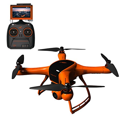 """Wingsland Minivet V2 Drone RC Quadcopter FPV Selfie UAV 3-Axis Gimbal 1080P HD Camera with 5"""" LCD Monitor (Upgraded Version)"""