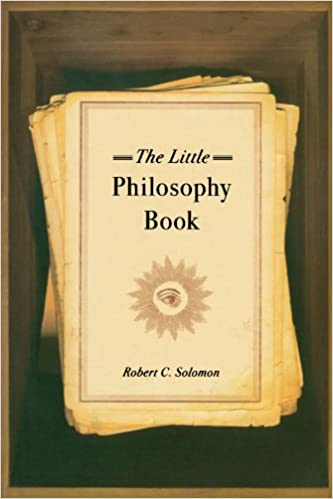 The Little Philosophy Book 1st Edition