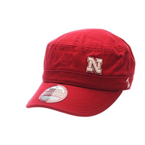 NCAA Nebraska Cornhuskers Adult Women Women's Cadet Hat, Adjustable, Team Color ()