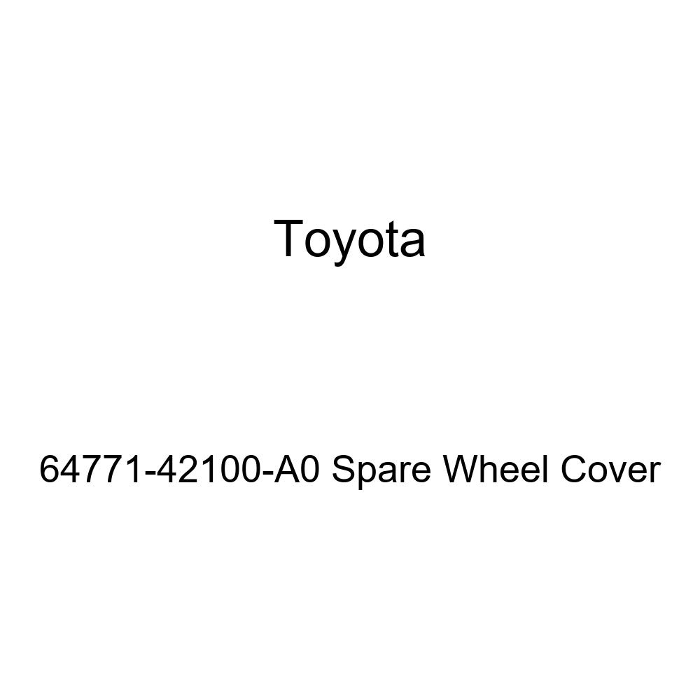 Toyota Genuine 64771-42100-A0 Spare Wheel Cover