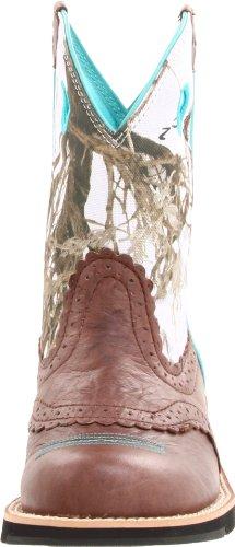 Ariat Frauen Fatbaby Sammlung Western Cowboy Boot Brown Crinkle / Schneeflocke