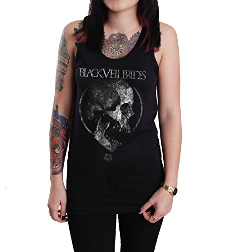 PV Black Veil Brides Roots Unisex Tank Top Shirt Black (X-Large)