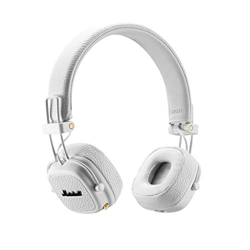 Marshall Major III Bluetooth Wireless On-Ear Headphone, White - New
