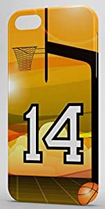 Basketball Sports Fan Player Number 14 Snap On Decorative iphone 6 4.7 Case