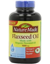 (5星) Nature Made Omega-3 亚麻籽油健康软胶囊 3瓶装 SS后 $28.06