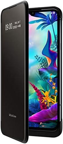 LG G8X Thinq Dual Screen Unlocked Smartphone – 128 GB – Aurora Black (US Warranty) – Verizon, AT&T, T–Mobile, Sprint, Boost, Cricket, Metro (Universal Compatibility)
