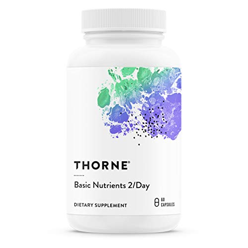 Thorne Research - Basic Nutrients 2 / Day - Complete Multivitamin/Mineral Formul - 60 Capsules