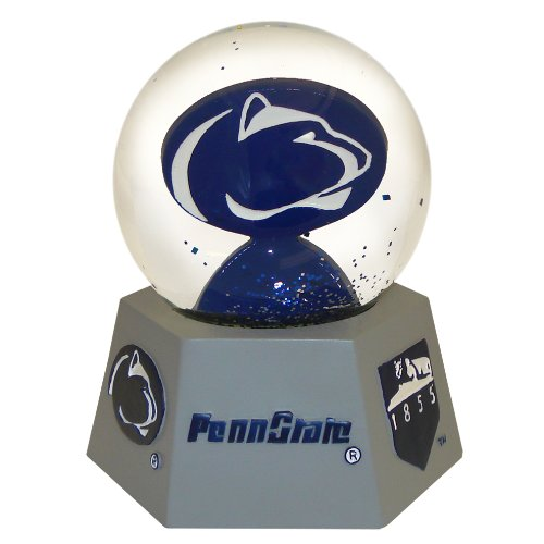NCAA Nittany Lions Mascot Musical Snow Globe (Mascot Musical Globe)