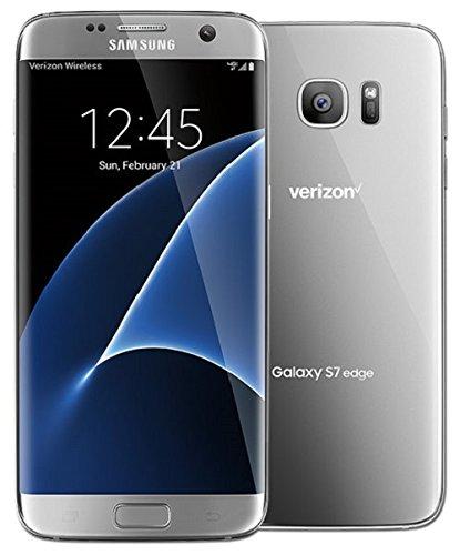 Samsung Galaxy S7 Edge Verizon Wireless CDMA 4G LTE Smartphone w/ 12MP Camera and Infinity Screen - Silver