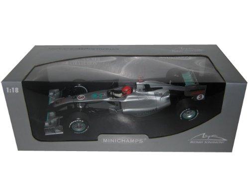 【MINICHAMPS/ミニチャンプス】1/18 メルセデス GP M.シューマッハ ショーカー 2010 B003RD1YAM