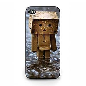 Iphone 5/5S Hard Plastic Case Cover,Personal Popular Rain Mobile Phone Case for Men with Rain Design