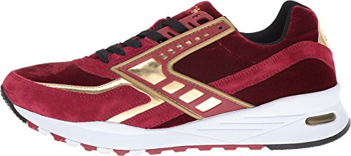 Brooks Heritage Herenregent Rode Dahlia / Gold Chrome Sneaker 10.5 D (m)