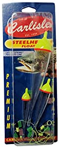 "Carlisle Steelhead Floats - 3 Pack Bobbers with Latex ""Spring"" #CA-CLFA"