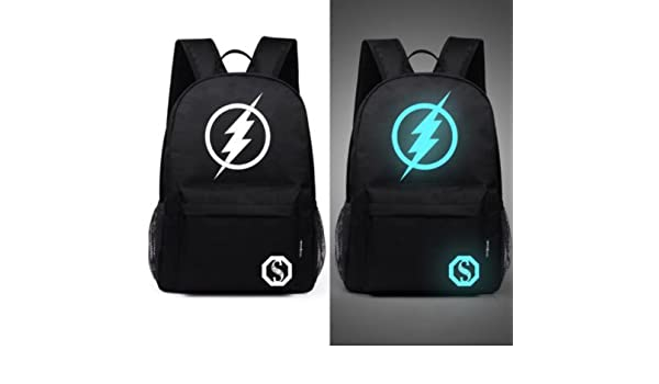 Amazon.com: Senkey style Mens Backpack Anime Starry sky Luminous Printing Teenagers Casual Mochila Men Womens Student Cartoon School Bags (M7): Computers ...