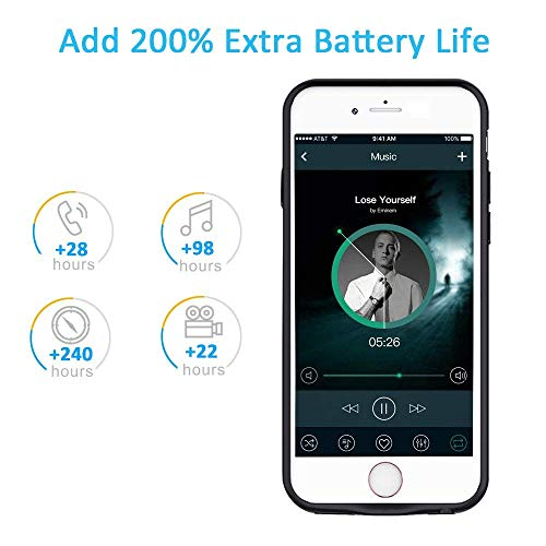 5000mAh Battery Case for iPhone 6S/6