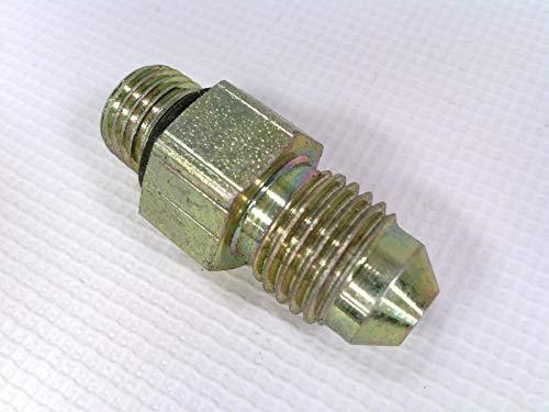 """6400-08-08  1//2/"""" MALE JIC x 1//2/"""" MALE O-RING BOSS HYDRAULIC FITTING"""
