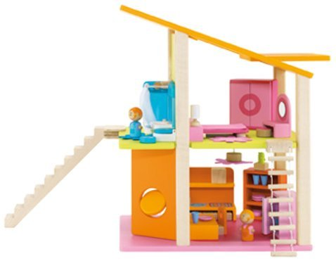 nueva gama alta exclusiva Sevi Small Doll's Doll's Doll's House with Furniture A by Sevi  n ° 1 en línea