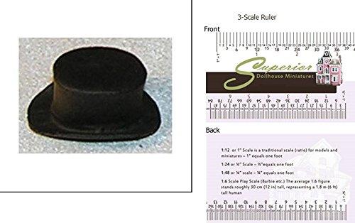 Dollhouse Miniature Top Hat