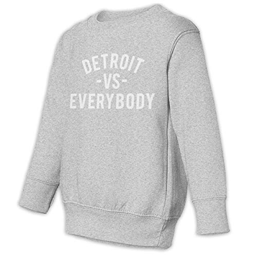 Detroit VS Everybody Crewneck Pullover Sweatshirts for Girls'
