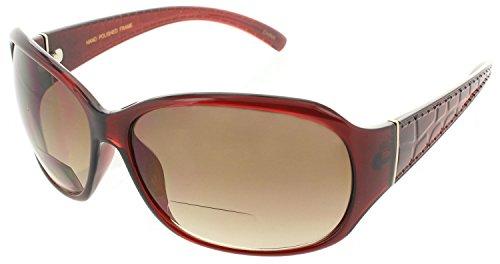 6fc7fabb8ad2 Womens Bifocal Sunglasses Sun Readers Reading Glasses Gator Print Designer  - Sunglasses Gators