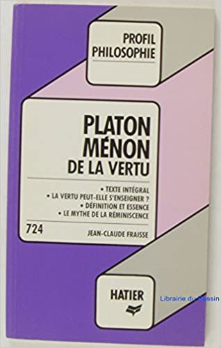 Download PLATON . MENON          H7638 pdf ebook