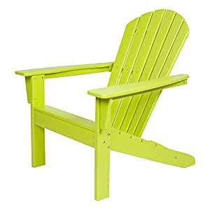 Amazon.com: Shine Company – Silla Resina Seaside Adirondack ...