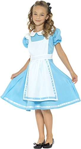 Smiffy's Girls Dreamland Alice Costume, Blue, (Costumes Land)
